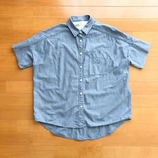 ムジルシリョウヒン(MUJI (無印良品))の半袖シャツ - 無印良品(シャツ/ブラウス(半袖/袖なし))
