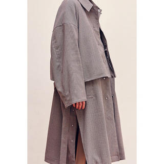 UNUSED - YOKE 3WAY BAL COLLAR SHARE COAT 19AW