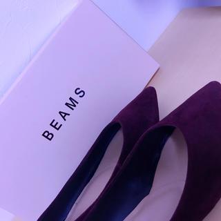 ビームス(BEAMS)のBEAMS ポインテッドバレーシューズ(バレエシューズ)