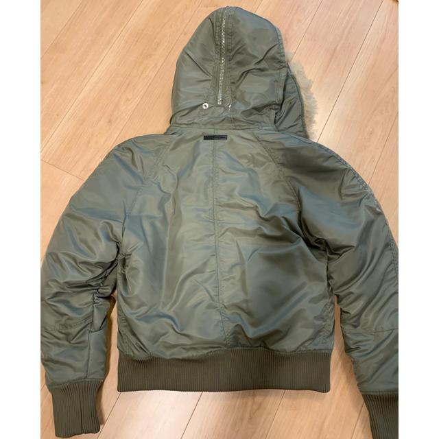 BLACK GOLD(ブラックゴールド)のディーゼル ブラックゴールド アウター N-2B フライトジャケット  メンズのジャケット/アウター(ミリタリージャケット)の商品写真