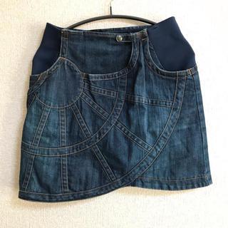 TSUMORI CHISATO - ツモリチサト tsumori chisato デニムスカート 変形スカート