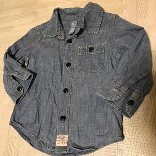 ギャップ(GAP)のGAP デニムシャツ 90センチ(Tシャツ/カットソー)