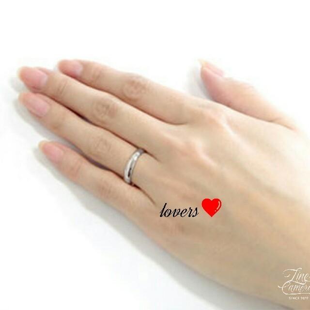 送料無料 25号 シルバー サージカルステンレス シンプル 甲丸 リング 指輪 メンズのアクセサリー(リング(指輪))の商品写真