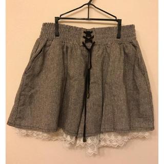しまむら - 大きいサイズ   レディース   キュロットスカート