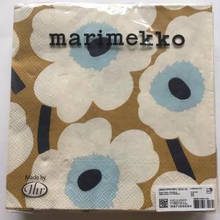 marimekko - [未開封]マリメッコ ペーパーナプキン UNIKKO cream gold