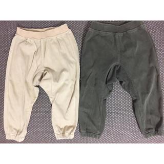 MUJI (無印良品) - 無印良品 パンツ 2本セット