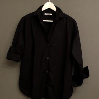 ジャーナルスタンダード(JOURNAL STANDARD)のrelumeブラックオーバーサイズシャツ(Tシャツ(長袖/七分))