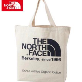 ザノースフェイス(THE NORTH FACE)の19年モデル 新品 未使用 ノースフェイス オーガニックコットン トート  黒(トートバッグ)