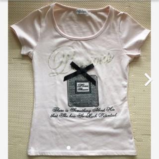 CECIL McBEE - セシルマクビー 半袖 Tシャツ 薄ピンク