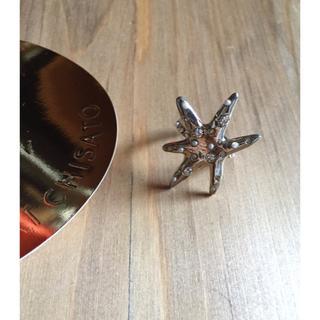 ツモリチサト(TSUMORI CHISATO)のツモリチサト ★スターフィッシュ ヒトデ ゴールドリング 指輪(リング(指輪))