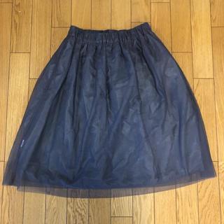 イッカ(ikka)のリバーシブルスカート(ひざ丈スカート)