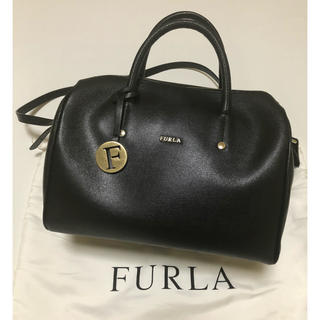 Furla - フルラ FURLA  ハンドバッグ 黒