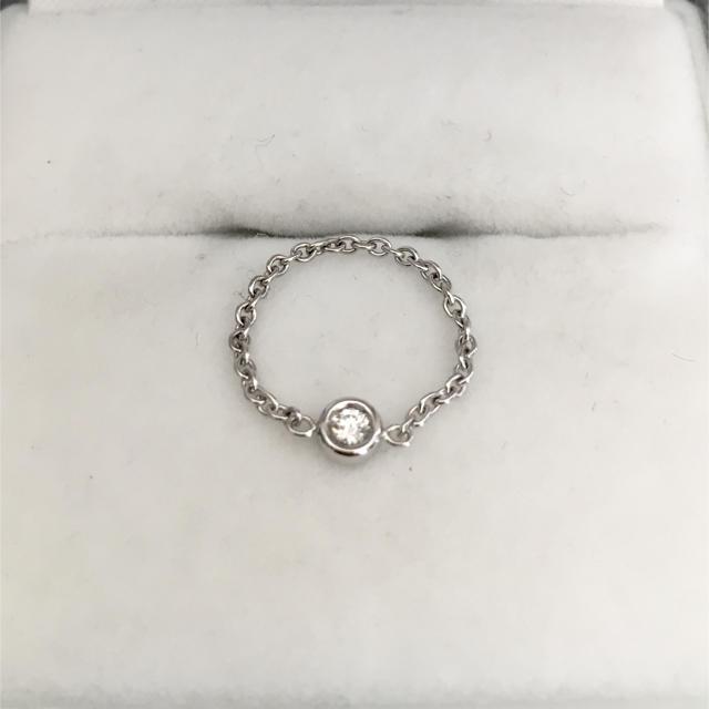 Christian Dior(クリスチャンディオール)のクリスチャン ディオール ミミウィ リング K18WG 0.4g レディースのアクセサリー(リング(指輪))の商品写真