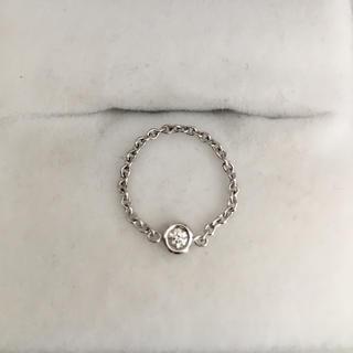 クリスチャンディオール(Christian Dior)のクリスチャン ディオール ミミウィ リング K18WG 0.4g(リング(指輪))