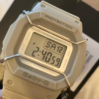 ベビージー(Baby-G)のBaby-G PROTECTION ベビージー グレー(腕時計)