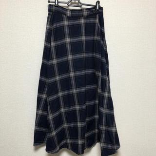 Techichi - 新品☆チェック ロングスカート