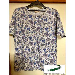 クロコダイル(Crocodile)の美品!クロコダイル 花柄 Tシャツ(Tシャツ(半袖/袖なし))