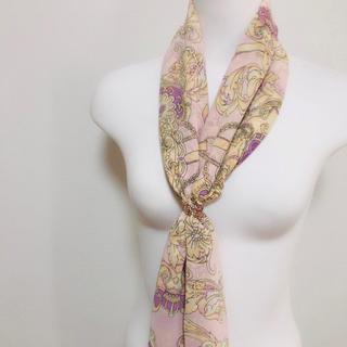 レディー(Rady)のRady クイーンスカーフ シフォン スカーフ(バンダナ/スカーフ)