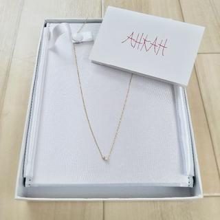アーカー(AHKAH)のAHKAH ヴィヴィアンクチュール ネックレス 18K YG ダイヤモンド(ネックレス)
