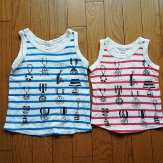 シップス(SHIPS)の【おそろい】90&110 SHIPS  Tシャツセット(Tシャツ/カットソー)