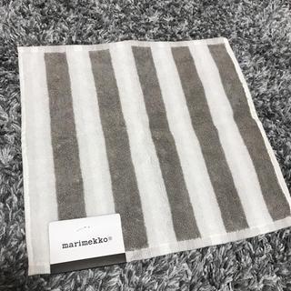 マリメッコ(marimekko)の新品未使用♫ マリメッコ ミニタオル タオルハンカチ(ハンカチ)