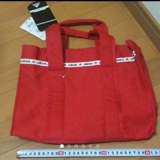 adidas - アディダス トートバッグ バッグ 鞄 赤 レッド 新品