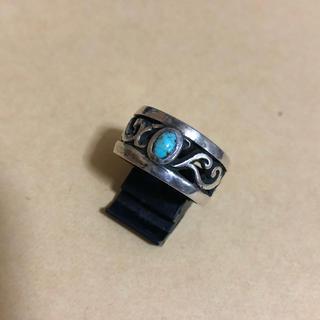 ターコイズ シルバー925 リング 19号 未使用(リング(指輪))