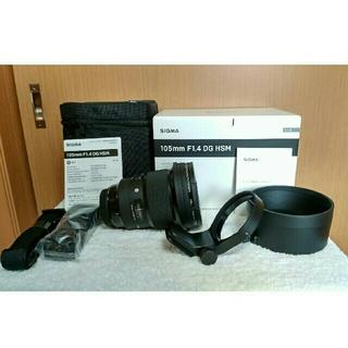 SIGMA - シグマ SIGMA 105mm F1.4 DG HSM Artキャノン用