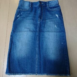 ジーユー(GU)の新品未使用、デニムスカート140(スカート)