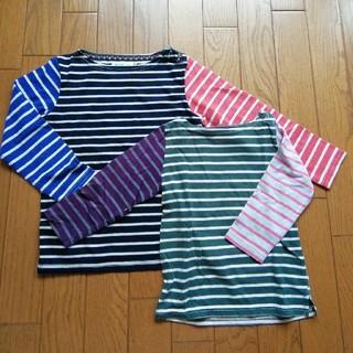 ビームス(BEAMS)の【おそろい】BEAMS mini 90&110 ロンTシャツセット(Tシャツ/カットソー)