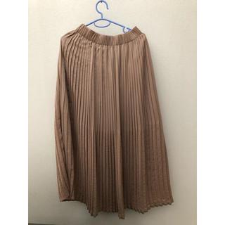 ナチュラルクチュール(natural couture)のnatural couture ギャザープリーツスカート(ロングスカート)