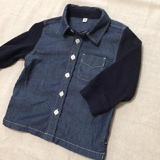 ムジルシリョウヒン(MUJI (無印良品))の無印良品 80 シャツ(シャツ/カットソー)