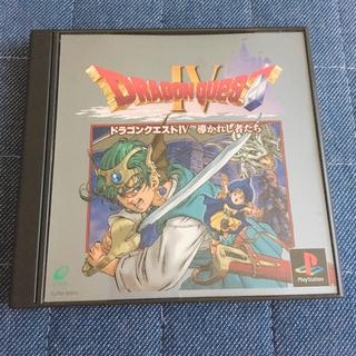 プレイステーション(PlayStation)のドラゴンクエスト4 導かれし者たち PS盤(携帯用ゲームソフト)