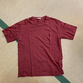 GU - [カジュアル]ボルドー Tシャツ