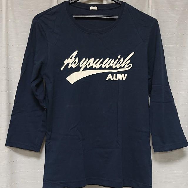 GU(ジーユー)のGU  七分袖  ロンTシャツ  Sサイズ レディースのトップス(Tシャツ(長袖/七分))の商品写真
