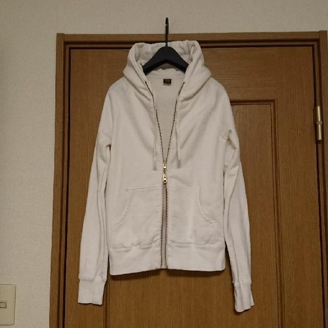 DOORS / URBAN RESEARCH(ドアーズ)の★アーバンリサーチドアーズ ジップアップパーカー白 レディースのトップス(パーカー)の商品写真