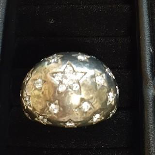 ブラックシルバーリング925ナンバー サイズ 9(リング(指輪))
