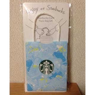 スターバックスコーヒー(Starbucks Coffee)のスターバックス ★ カード用台紙(その他)