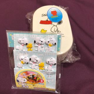 ピーナッツ(PEANUTS)の【スヌーピー】ランチBOX & ピック(弁当用品)