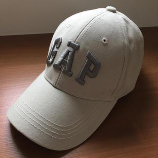 GAP - 未使用・美品☆GAP キャップ☆帽子 薄グレージュ フリーサイズ
