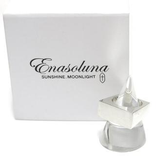 エナソルーナ(Enasoluna)のEnasoluna Corner ring リング 定価30,800円 11号 (リング(指輪))