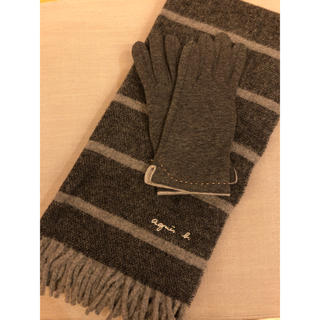 アニエスベー(agnes b.)のアニエスベー マフラー&手袋(マフラー/ショール)