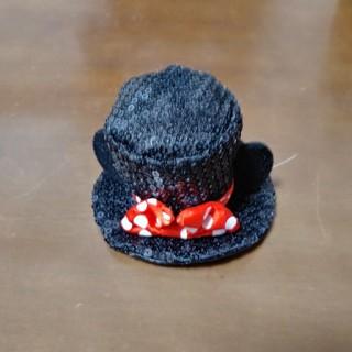 ディズニー(Disney)の【美品】ミニーの帽子型のヘアアクセサリー(その他)