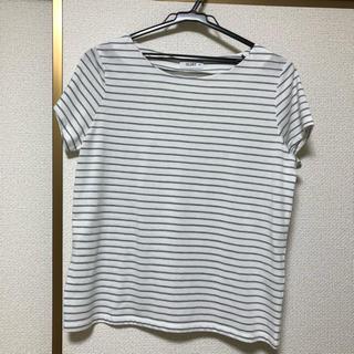 しまむら - Tシャツ  ボーダー
