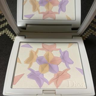 ディオール(Dior)のディオール スノーブラッシュ&ブルームパウダー 003スイートラベンダー(フェイスパウダー)