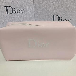 ディオール(Dior)のディオール ピンク ポーチ(ノベルティグッズ)