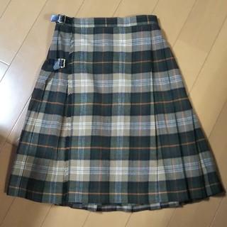 ザスコッチハウス(THE SCOTCH HOUSE)の老舗英国ブランド【美品】スコッチハウス プリーツスカート 140(スカート)