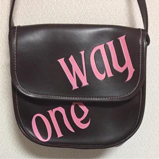 ワンウェイ(one*way)のone way バック(ショルダーバッグ)