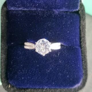 ティファニー(Tiffany & Co.)の超美品Tiffany Setting リング 指輪 ギラギラ レディース(リング(指輪))