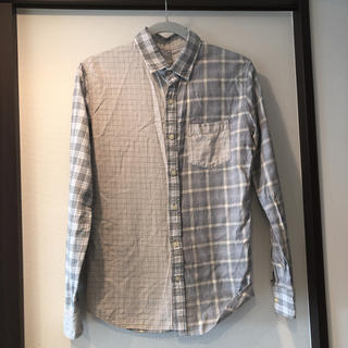 コムサイズム(COMME CA ISM)のチェックシャツ/ネルシャツ/コムサ/M/長袖(シャツ)